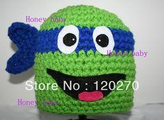 Free Shipping Hello Kitty Minnie Spider Man Cartoon Crochet Hat ...