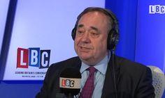 Alex Salmond tells Nicola Sturgeon to block Brexit