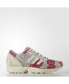 wholesale dealer b577f c9fb2 Adidas ZX Flux Ch Solid Grey Chalk White Raw Pink
