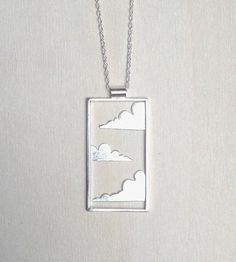 Cloud Sterling Silver Necklace