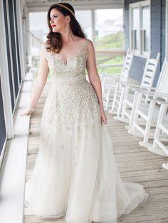 Vestido de Noiva Plus Size   Como Usar