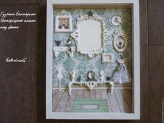 Купить Интерьерное панно для фото Комнатка маленькой мисс, - нежно берюзовый, панно, фотография