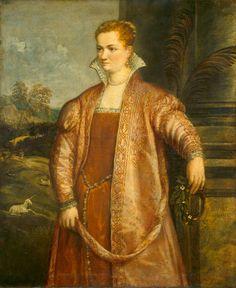Follower of Titian Anonymous Artist Titian Venetian, c. 1490 - 1576 Irene di Spilimbergo c. 1560
