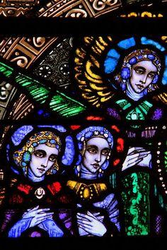 Harry Clarke - Stained Glass windows in Cavan Cathedral Stained Glass Church, Stained Glass Art, Stained Glass Windows, Mosaic Glass, Harry Clarke, Wine Bottle Wall, Wine Bottles, Pierre Loti, Irish Art