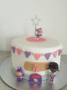 Doc Mc Stuffins Birthday Cake
