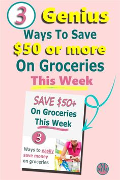Looking for easy ways to save money on groceries? Grab your free guide that'll show you 3 super easy ways to cut your grocery and save money on food every week. No couponing or spending hours cooking from scratch, just 3 actionable ways to save more money without trading time for dollars. Click over to snag your free guide to spending less on food and start watching your savings grow. #grocerybudget #grocerysavings #mealplanning #saveonfood Money Saving Meals, Save Money On Groceries, Ways To Save Money, Save On Foods, Budget Meal Planning, Frugal Meals, Great Recipes, Super Easy, Budgeting