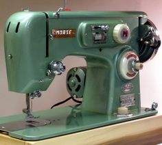 MI Vintage Sewing Machines: Morse MZZ (1957)