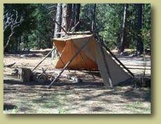Vecka 13 Konsten att resa ett tarp tält?