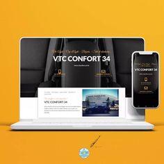 """4 mentions J'aime, 0 commentaires - Sandrine Ranéa 🇵 🇮 🇰 🇦 ☆ 🇨 🇴 🇲 (@pika_com_agde) sur Instagram: """"👩🏼💻 ℝ𝕖𝕗𝕣𝕖𝕤𝕙 🖌🎨 🚘 Comme @vtc_confort34 , service de VTC en #Agde, offrez un rafraîchissement à…"""" Chauffeur Privé, Site Web Design, Vtc, Le Web, Site Internet, Service, Comme, Instagram, Site Design"""