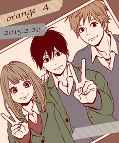 Orange. Naho, Kakeru & Suwa.