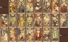 Resultado de imagen para fate apocrypha tarot