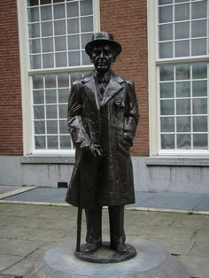 Kees Verkade, Couperus, Lange Voorhout, Den Haag, Zuid-Holland.