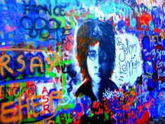Praque, Lennon's memory wall photo: Karola Kupisz