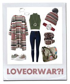 """loveorwar?!"" by esenyav on Polyvore featuring WearAll, Marvel, Dorothy Perkins, Tiffany & Co., Burberry and Maria Francesca Pepe"