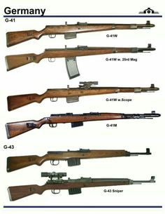 G41 and G43 Rifle