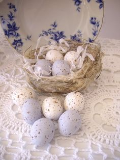 pretty speckled eggs