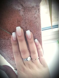 White coffin nails with glitter ring finger nail care products market Acrylic Nails Coffin Ombre, White Coffin Nails, White Nails, Pink Nails, White Nail Designs, Pretty Nail Designs, Halloween Nail Designs, Halloween Nails, Black Eyed Peas
