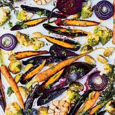For extra flavor, bloggers Melissa and Jasmine Hemsley toss their vegetables in chicken or duck fat ... - Provided by TIME Inc.