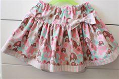 "Boo! design ""Elephant splash"" twirly skirt size 2,3,4,5 | Ame And Ela handmade | madeit.com.au"