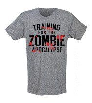 d64fcf8352ffe Train For the Zombie Apocalypse men s CrossFit Style T-Shirts from G2O
