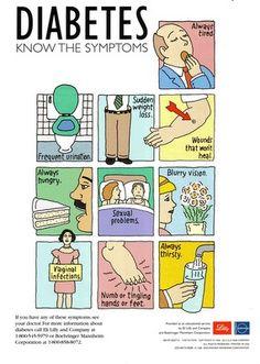 Diabetes, Diabetes Sign, Diabetic Recipes, Diabetes Symptoms, Diabetes ...