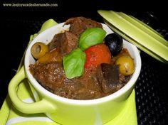 recette de boeuf provençal