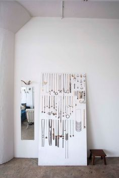 jewelry display for closet