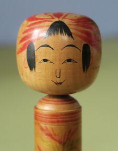 """Okuyama Kiyoji 奥山喜代治(1905-1972), Master Okuyama Unshichi, 18 cm, detail   """"at 57 years"""""""