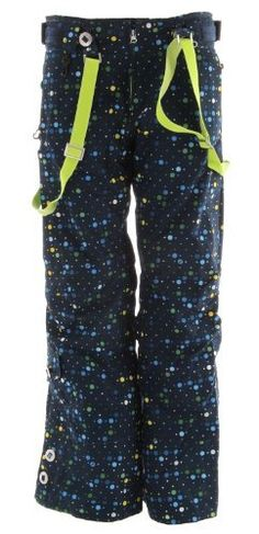 686 Acc Stiletto Insulated Snowboard Pants Navy Womens Sz M By 10795 The