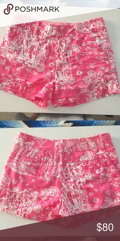 Skinny Dippin Callahans Selling to fund my size! $70 on 🅿️🅿️ or 〽️erc Lilly Pulitzer Shorts