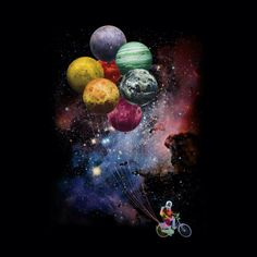 Spaceman Sidejob is a T Shirt designed by Bacht to illustrate your life and is available at Design By Humans Planets Wallpaper, Wallpaper Space, Cute Wallpaper Backgrounds, Galaxy Wallpaper, Iphone Wallpapers, Cute Wallpapers, Space Artwork, Galaxy Painting, Moon Art