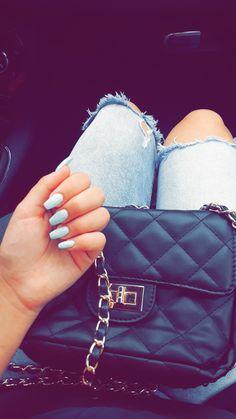 nails💞💅 #nails #summernails #bluenails #nailgoals #nailinspiration