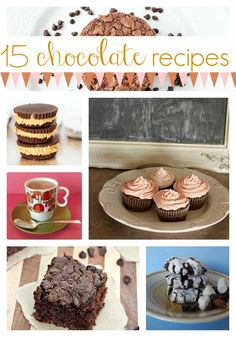 Easy Chocolate Dessert Recipes for Thanksgiving and Christmas!