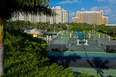 Top 100 Tennis Resorts - Ritz Carlton Biscayne Bay FL