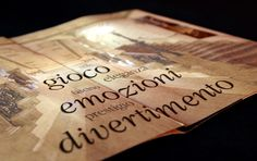 Internal pages brochure Casinò di Sanremo by CREA OFFICINA