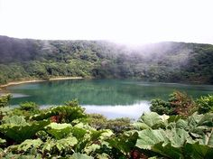 Crater Lake, Costa Rica by Sylvia Espinoza  Botos Lagoon, in a crater of the Poás Volcano in Costa Rica filled by rainwater and named after the indigenous botos tribe.
