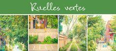 Ville de Montréal - Arrondissement Rosemont–La Petite-Patrie - Ruelles vertes