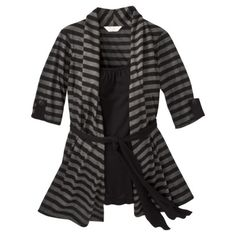 Ma Cherie Maternity Elbow-Sleeve Fashion Knit Top - So cozy! And Pregnant ladies look so cute in stripes.