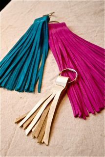Satchel Savannah Tassel Key Chains