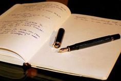 6 Creative Writing Exercises. These are really cool! Oh, and I would love to have that pen.