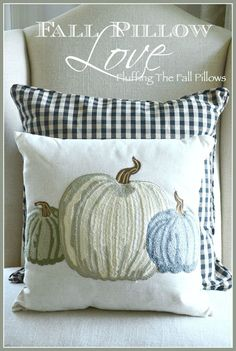FALL PILLOW LOVE… DECORATING FOR FALL WITH PILLOWS