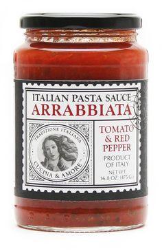 Cucina & Amore Arrabiata tomato & Red Pepper Pasta Sauce 16.8 oz – BRIARWOOD