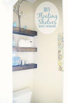 DIY Floating Shelves- it's happening.
