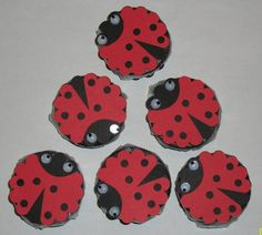 Ladybug Cookies by Muffin's Mama - Cards and Paper Crafts at Splitcoaststampers Candy Bar Covers, Ladybug Cookies, 3d Paper Projects, Punch Art Cards, Card Ideas, Gift Ideas, Peppermint Patties, Lady Bugs, Candy Bar Wrappers