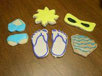 Sugar Fairy's Sweet Treats: Beach Themed Cookies