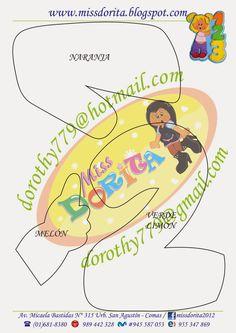 Miss Dorita: Moldes Gratis