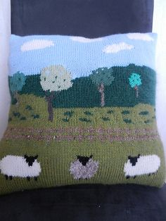 ** This cushion reminds me of sunny days walking in the countryside.**