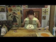 ▶ How to Applique Circles with Jan Patek - YouTube