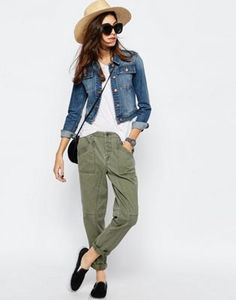 ASOS Washed Casual Peg Pants Loose Pants Outfit 213d251666959