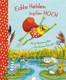 Vom Außenseiter zum strahlenden Held des Seerosenteichs – davon erzählt die atemlos spannende Geschichte mit Friedemann Frosch und seinen Freunden. Sprachlich und graphisch hervorragend umgesetztes Bilderbuch für Kinder ab 4 Jahre.